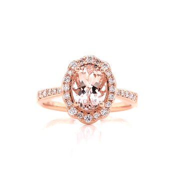 Magnificent Morganite Ring