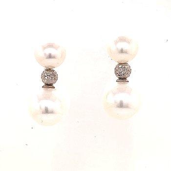 Beautiful Double Pear Drop Earrings