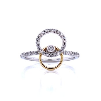 Stacked Circles Ring