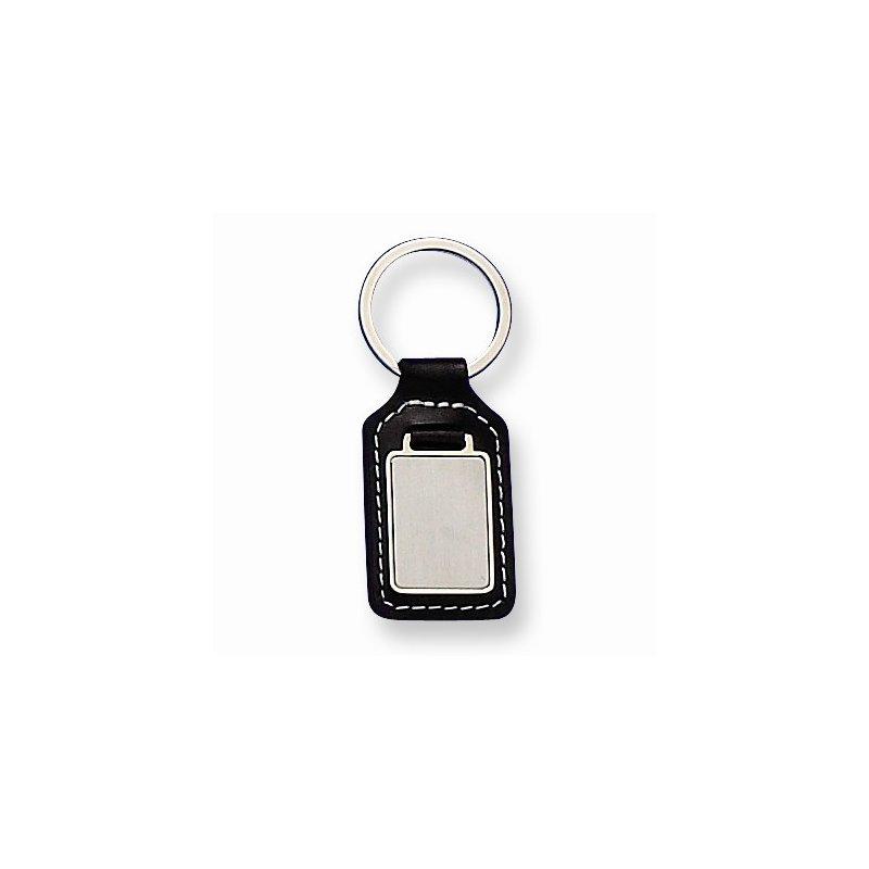 Bryan Beauties Black Leather Key Ring