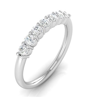 1/2ctw-Lab Grown 7 Diamond Band