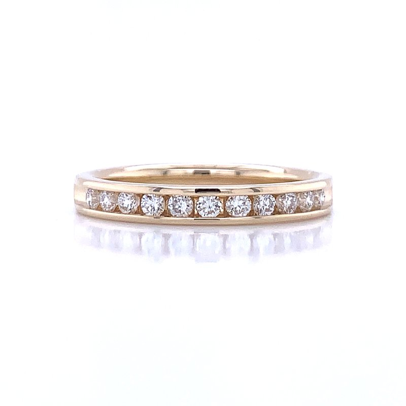 Bryan Beauties Channel Set Diamond Wedding Band 14ky-1/3ctw