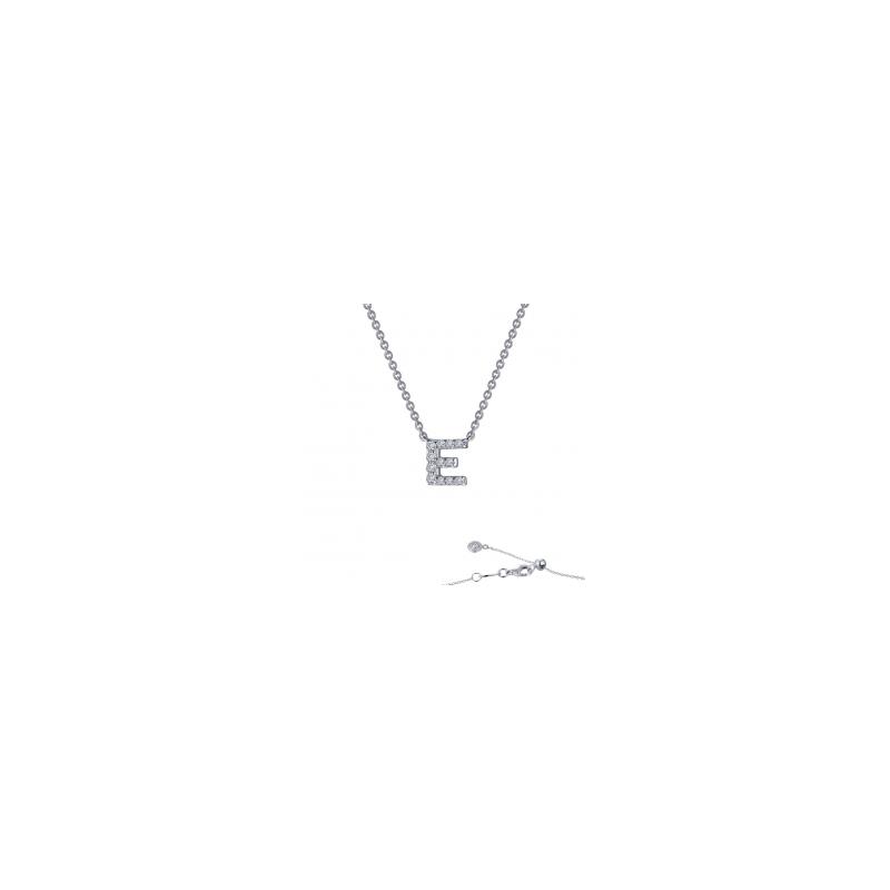 "LaFonn ""E"" Initial Necklace"