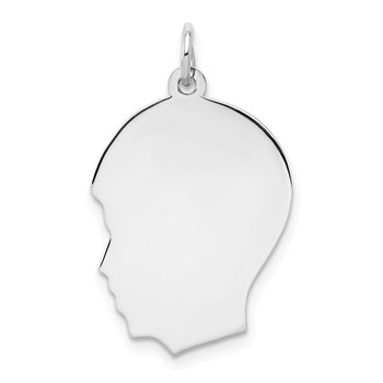 Boy Silhouette-Sterling Silver