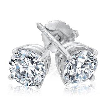 1ctw Diamond Studs