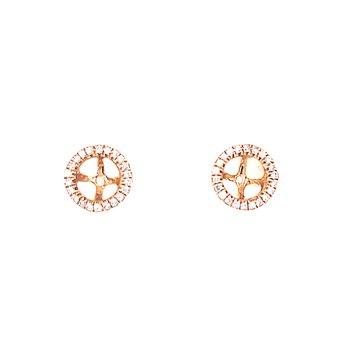 1/5ctw Diamond Earring Jackets-14ky
