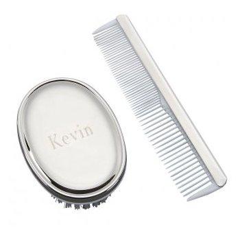Baby Boy Comb & Brush Set