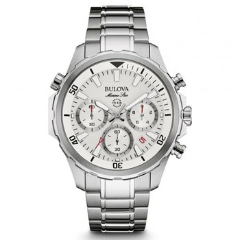 Bulova Marine Star with White Face