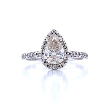Pear Shaped Engagement with Halo