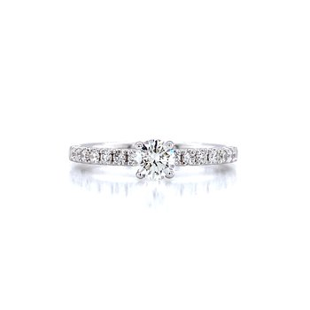 Toast the Romance  Engagement Ring