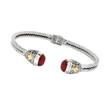 Carnelian Bali Bracelet