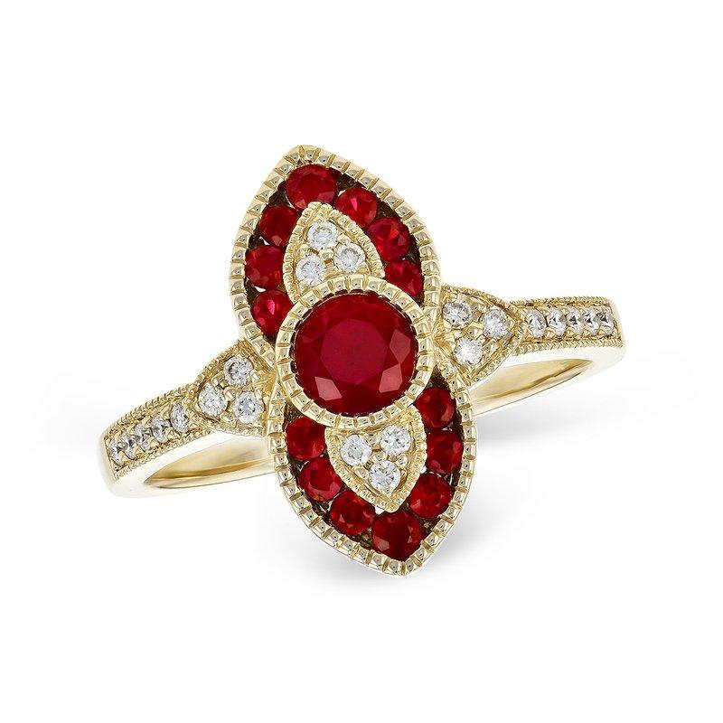 Ruby Romance Renewed Ring