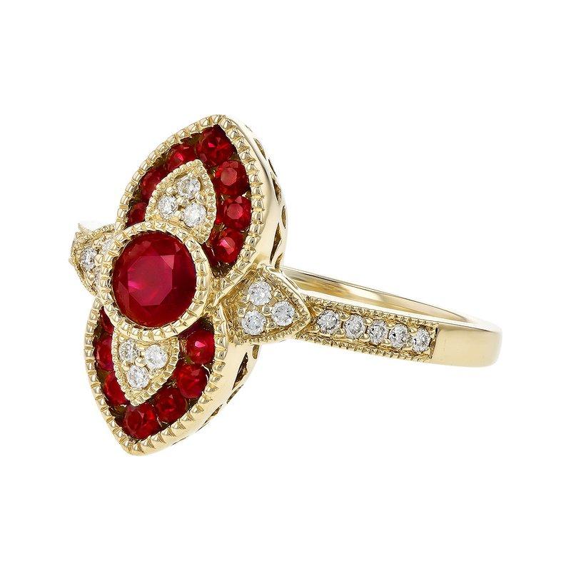 Allison-Kaufman Ruby Romance Renewed Ring