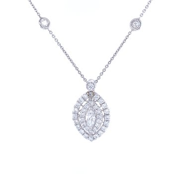 Magnificent Marquise Necklace