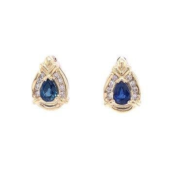 Super Sapphire Studs