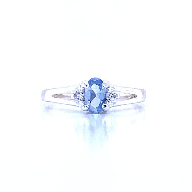 Bryan Beauties Children's March Birthstone Ring