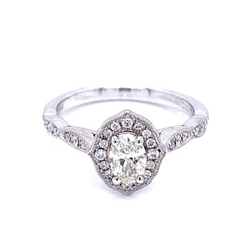 Make Her Day Oval Engagement Ring