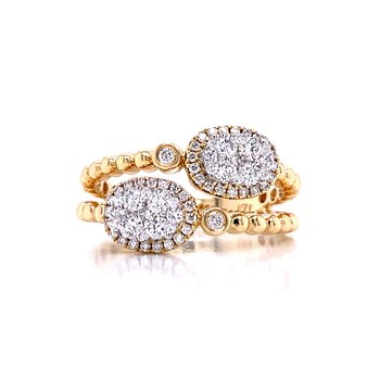 Fashionable Find Oval Ovation Ring