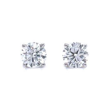 1.40ctw Lab Grown Diamond Studs