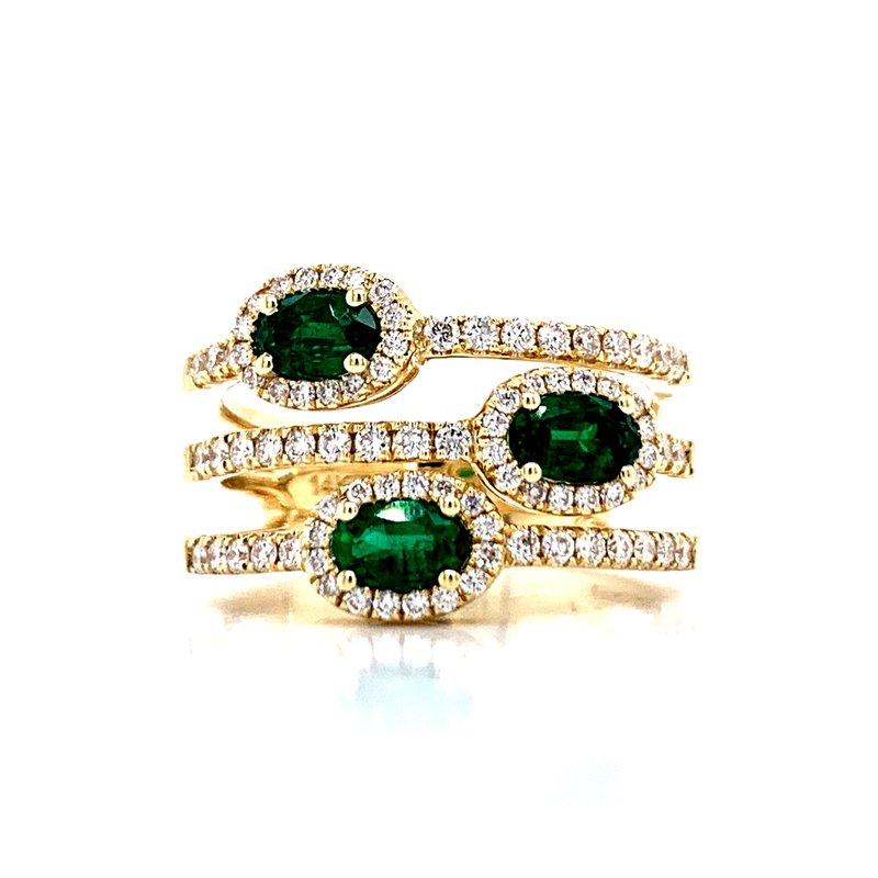 Bryan Beauties Three Times the Emeralds to Love