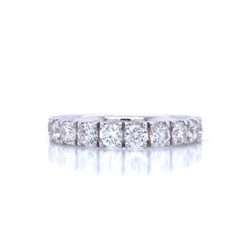 French Set Diamond Band 1ctw