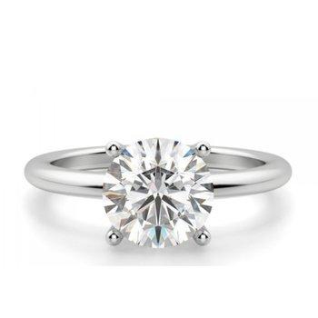 Evolv-Lab Grown Diamond Solitaire Ring