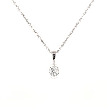 Solitaire Diamond Pendant 10kw