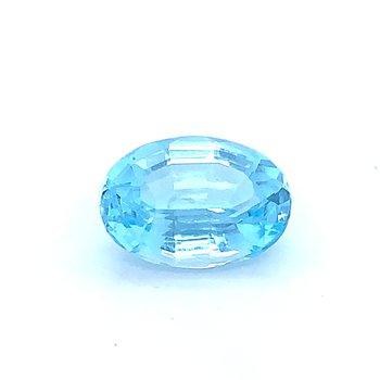 14x10 Oval Blue Topaz