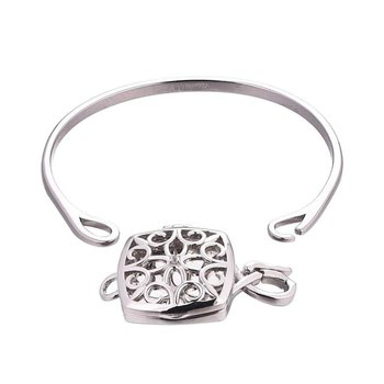 Lenora Bangle Bracelet Locket