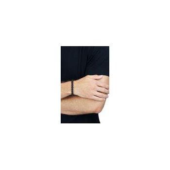 Onyx Bead Bracelet w/Silver Clasp