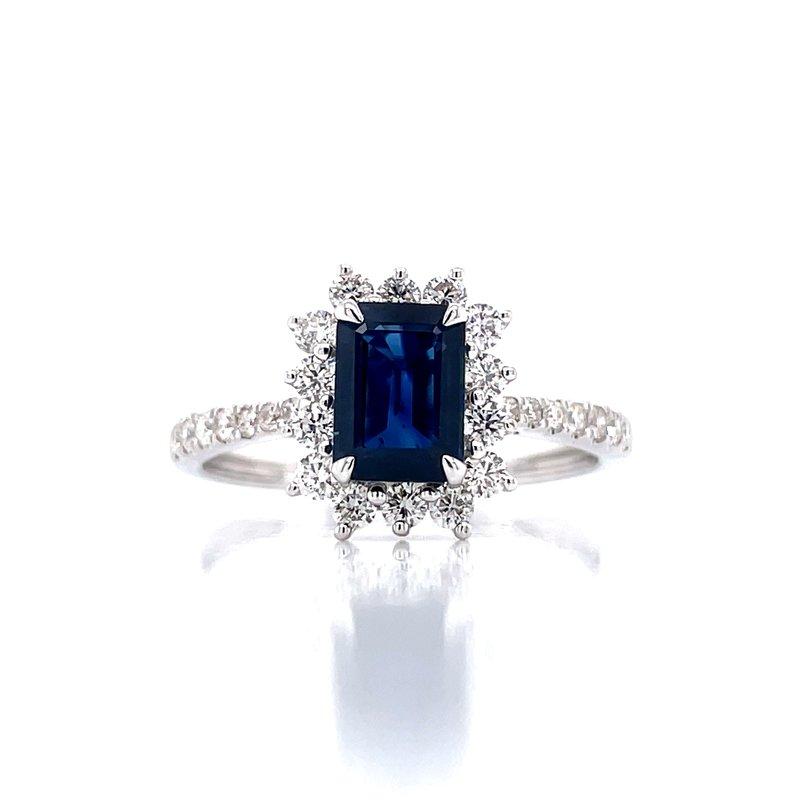 Bryan Beauties Elegant Sapphire & Diamond Ring