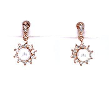 Pearl Earring in Pink