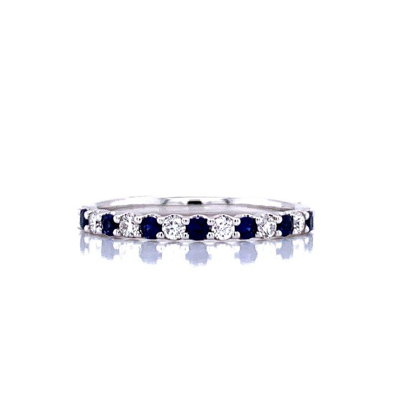 Bryan Beauties Sapphire & Diamond Band-Alternating