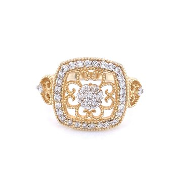 You Touch My Heart Diamond Ring