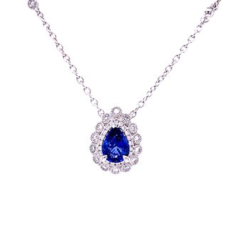 Lady's Choice Sapphire Necklace