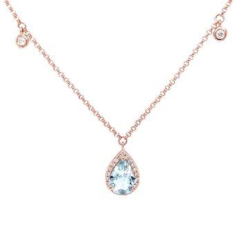 Splendid Aquamarine Necklace