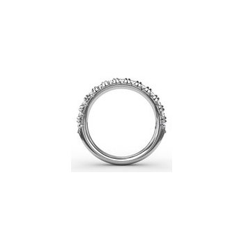Chunky Modern Pave Anniversary Band-1ct size-14kw