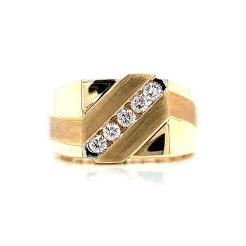 1/3ctw Diamond Men's Ring
