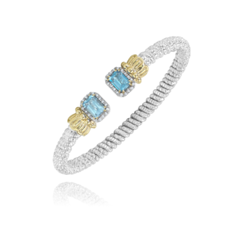 4mm Vahan with Blue Topaz