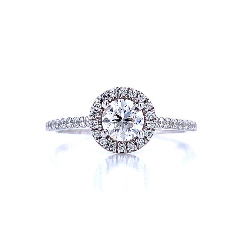 Bryan Beauties Diamond Halo Engagement 3/4ctw