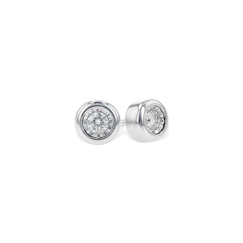 Allison-Kaufman Go with Me Diamond Earrings-.10ctw 14kw