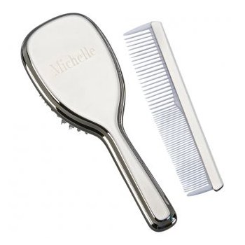 Baby Girl Comb and Brush Set
