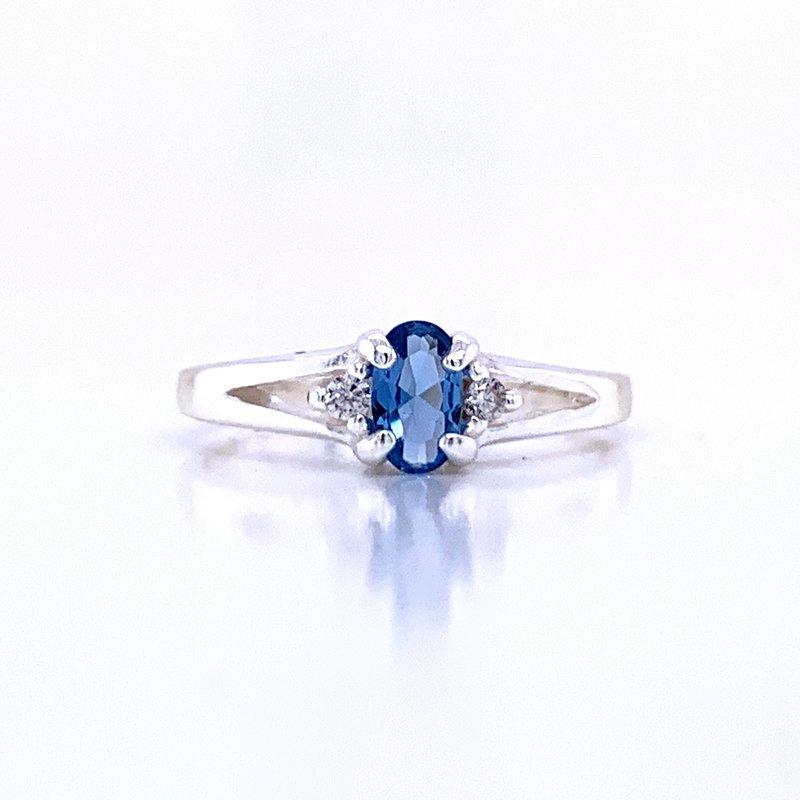 Bryan Beauties Children's December Birthstone Ring