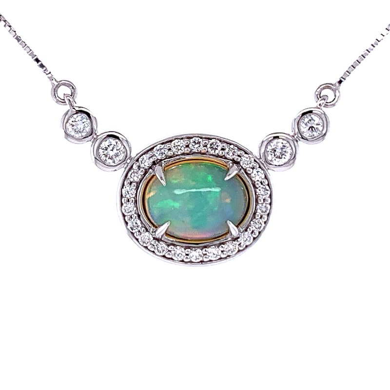 Bryan Beauties Opal Masterpiece Necklace