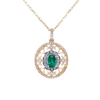 Stunning EmeraldPendant