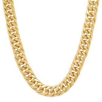 Forever Gold 10mm Cuban Link 9 inch Bracelet