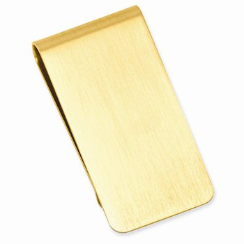 Yellow Plated Money Clip