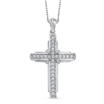 Speak Volumes Diamond Cross