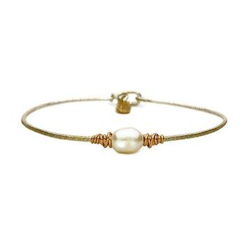 Serenity Pearl Bracelet