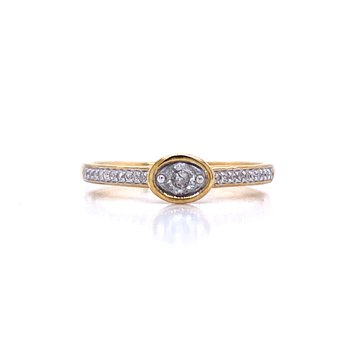 East West Diamond Stackable
